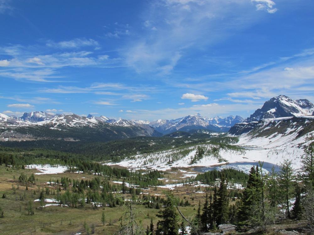 Healy Pass, Banff